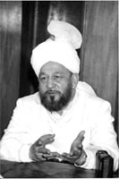 Hadhrat Mirza Tahir Ahmad (rh), fourth Khalifa of the Ahmadiyya Muslim community