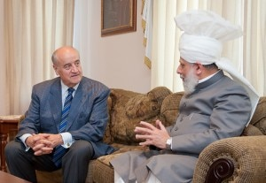 Julian Fantino MP with His Holiness