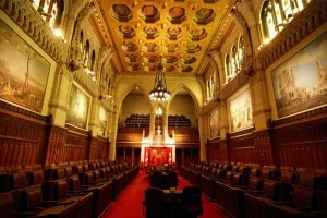 Senate Chamber, Canadian Parliament