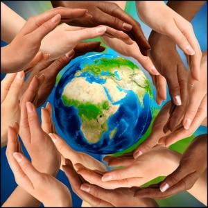 hands-globe
