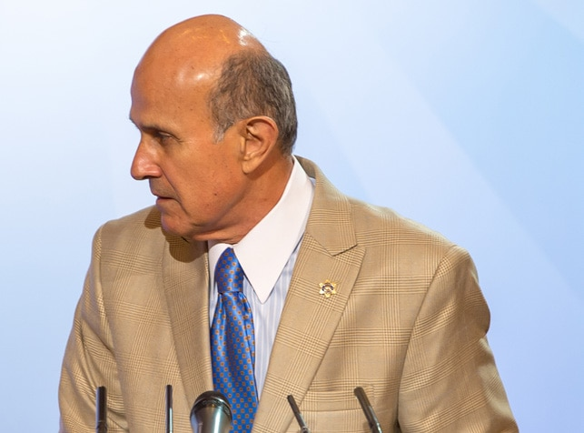 Los Angeles County Sheriff Lee Baca