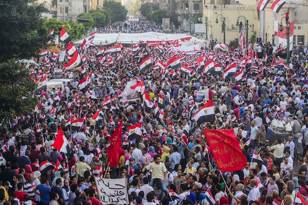 Egyptian demonstration against the new government. © Mohamed Osama | dreamstime.com