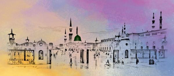 © Illustrations by Faiz Ahmad Zafar (Waqfe Nau), London, UK.