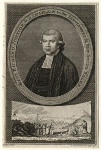 Richard Johnson (circa 1756-1827) is considered to be the first Christian cleric in Australia and was the Church of England Chaplain to the First Fleet.