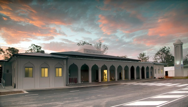 The newly inaugurated Masroor Mosque in Brisbane. © Makhzan-e-Tasaweer