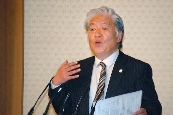 Communist Party Leader, Mr. Yoshiyaki Shiji