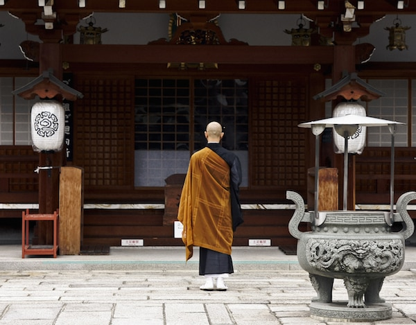 Monk at a Buddhist Temple © photocrack77 | shutterstock.com