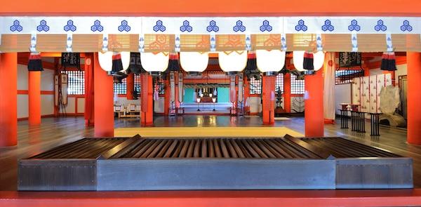 Shinto shrine at Itsukushima, Japan. © Sean Pavone | shutterstock.com