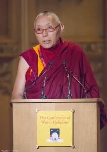 Geshe Tashi Tsering (A representative of His Holiness, the Dalai Lama)