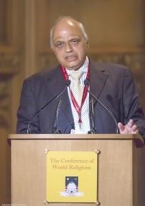 Umesh Chander Sharma (Chairman of Hindu Council UK)