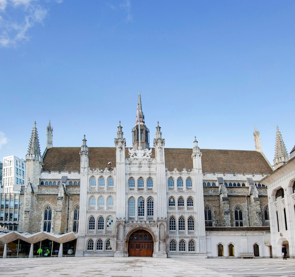"London Guildhall, venue for the Conference of World Religions ""© MAKHZAN-E-TASAWEER"