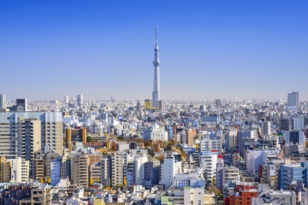 Daytime view of Tokyo, Japan. Japan has recovered since the war and become a thriving nation for business, commerce and technological advancements over the past decade. © Sean Pavone | Shutterstock.com