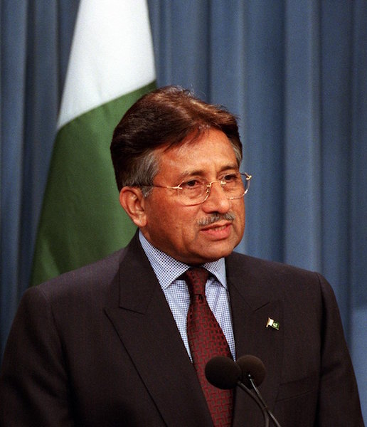 Pervez Musharraf passed the executive order which took away the most basic right of a citizen to vote. This bold move by the government aims to segregate the Ahmadi Muslims from the rest of Pakistan so that they have no chance of integration and live separate lives with none of the same rights as ordinary citizens. (Accessed via Wiki Commons)