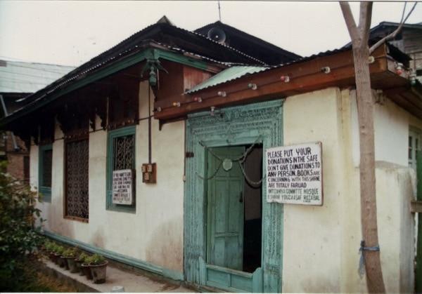 Tomb of Jesusas in India.