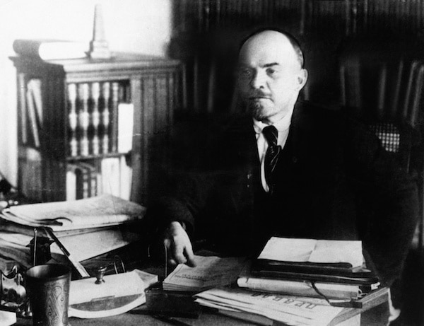 Even Lenin was swayed by his emotions to have his revenge on the Czar for the death of his brother. © Everett Historical | Shutterstock.com
