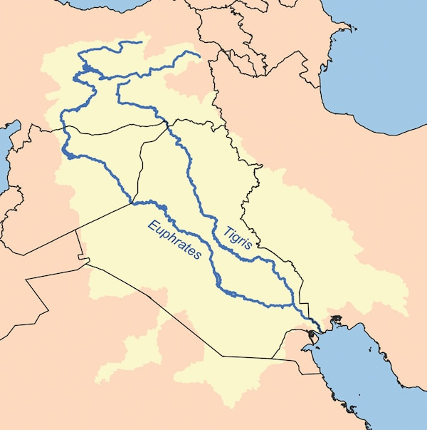 Nineveh is located near Iraq and is regarded as a very developed city which became a major trading centre in its region. (Accessed via Wiki Commons)