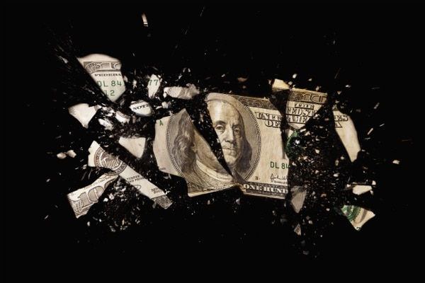 Daesh acquires dollars from the Federal Reserve Bank through Iraq's central bank. We can defeat these terrorist groups more quickly if we cut the funding o at the source. Tetra Images   Shutterstock.com