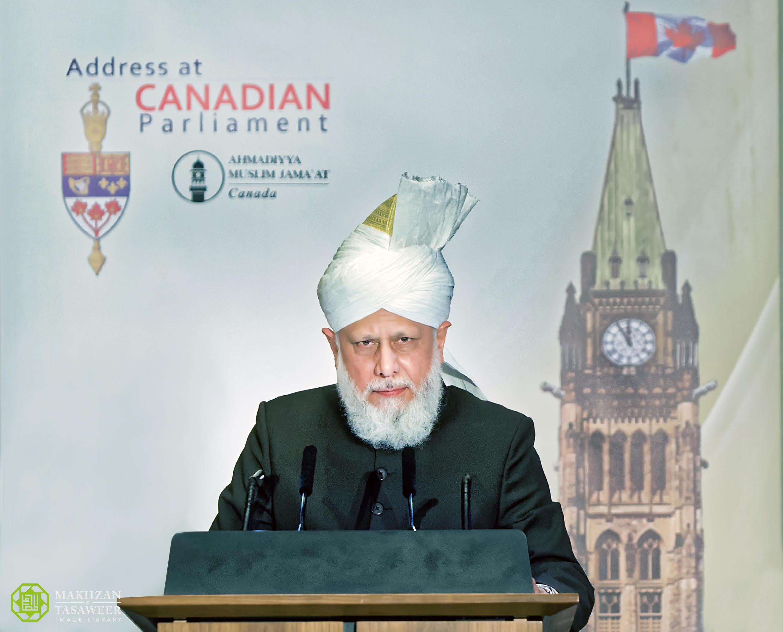 His Holiness, Hazrat Mirza Masroor Ahmad