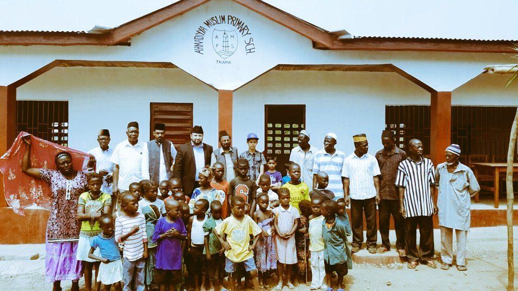 Ahmadiyya Muslim Primary School in Taiama, Sierra Leone
