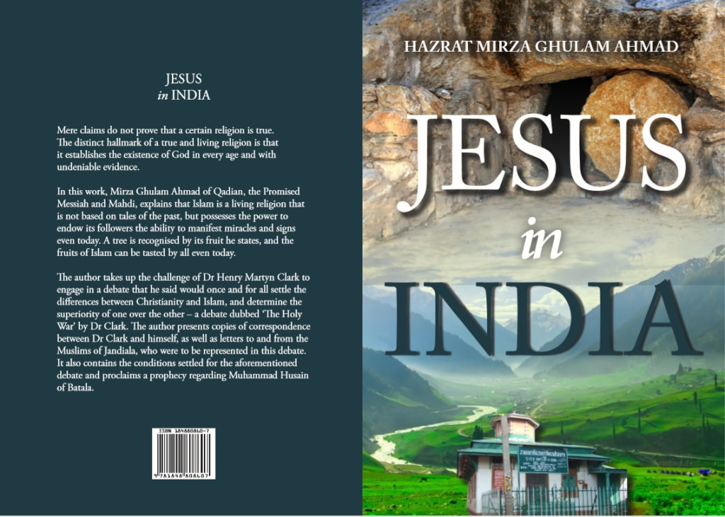 Jesus in india cover