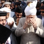 Huzur Leading in Silent prayer