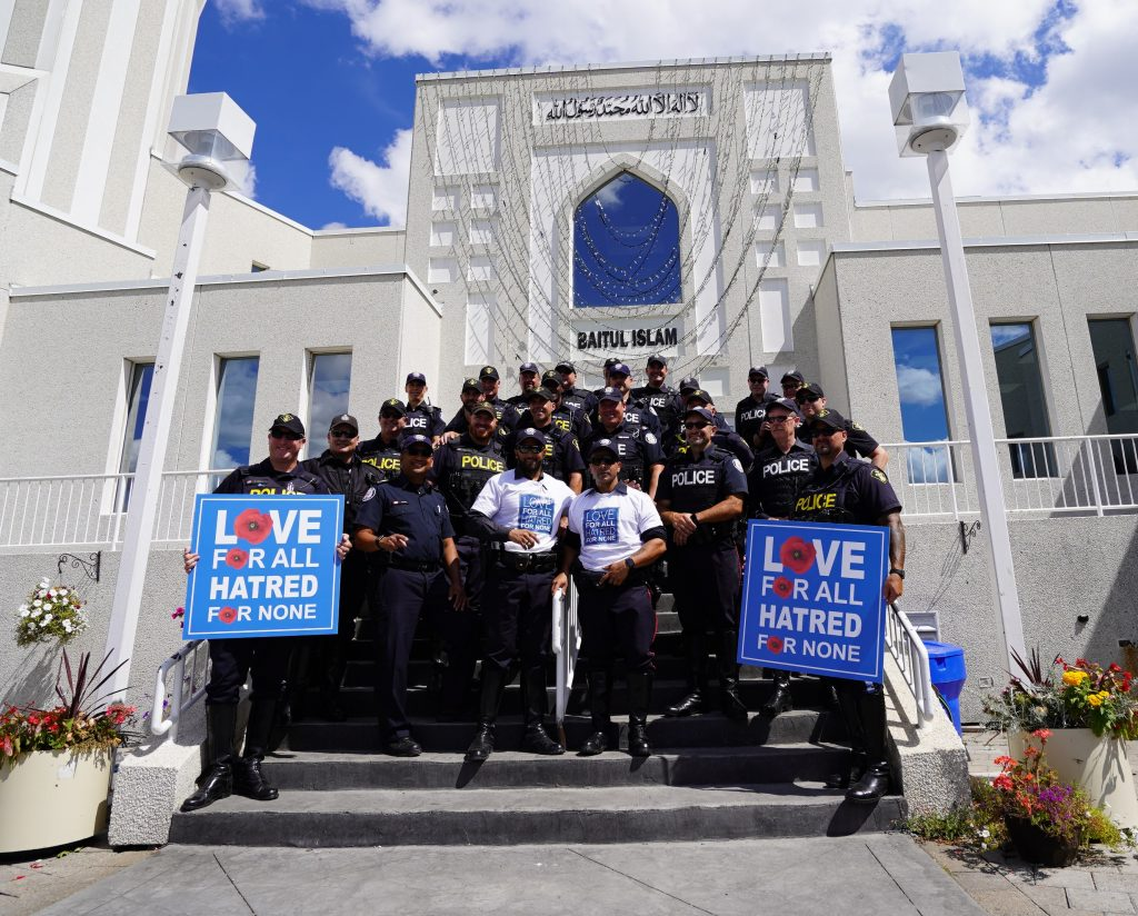 Canada's 911 Foundation at Baitul Islam Mosque
