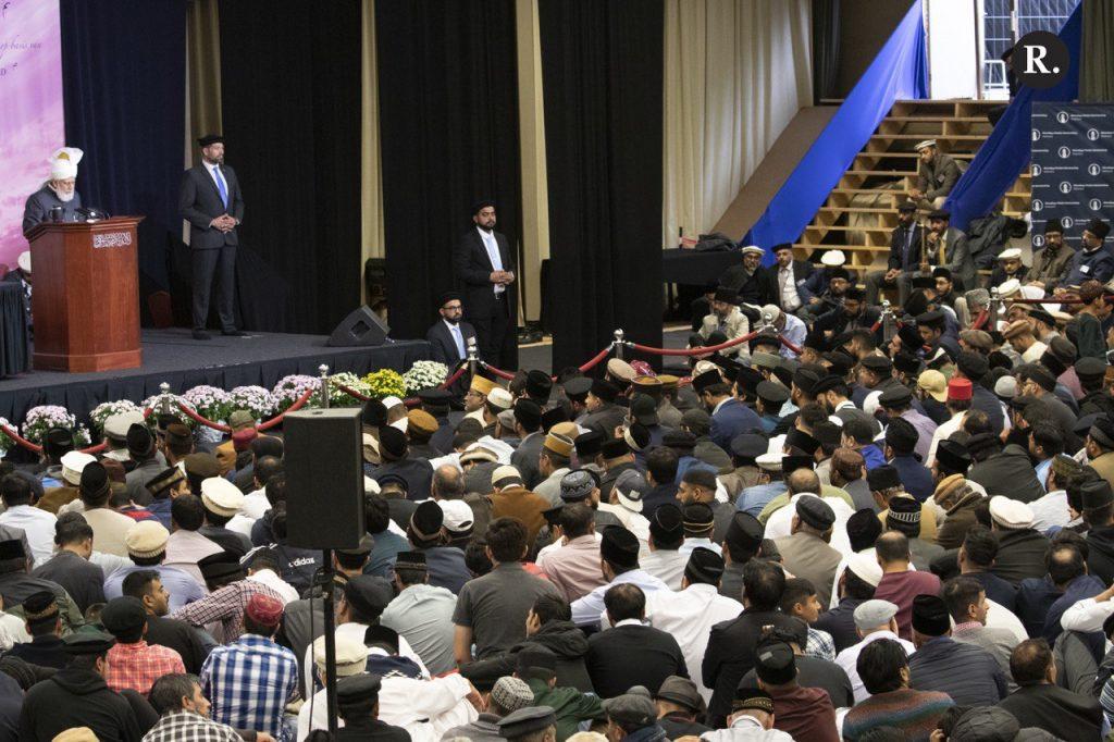 Holland's Concluding Address - Crowed