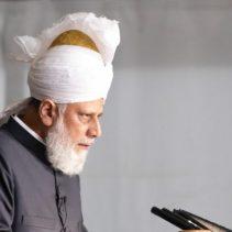 Hazrat Mirza Masroor Ahmad (aba) at Jalsa Salana France