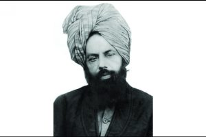 Portrait of the Promised Messiah (as) & Imam Mahdi (Guided One), Hazrat Mirza Ghulam Ahmad (as)