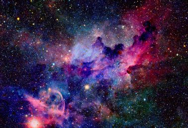 Image of stars in space
