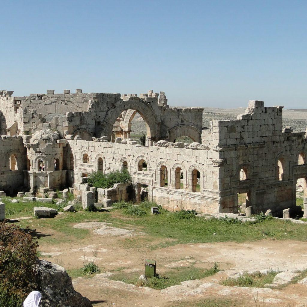 Image showing Church of Saint Simone Stylites, Syria.