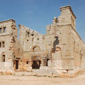 Image of Qalb Lozeh Church in Syria