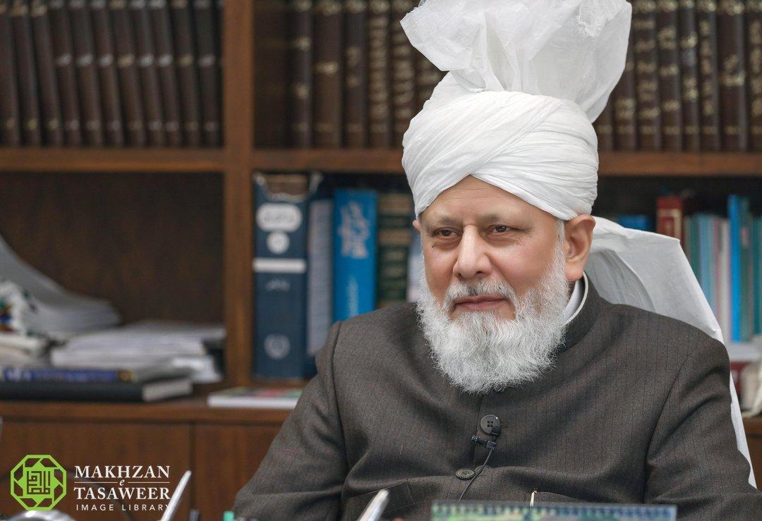 His Holiness, Hazrat Mirza Masroor Ahmad (aba)