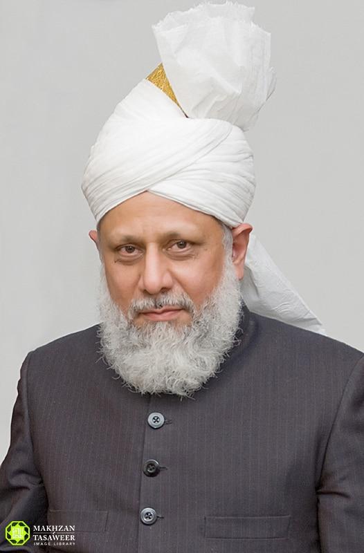 His Holiness, Hazrat Mirza Masroor Ahmad (aba), Worldwide Head of the Ahmadiyya Muslim Community, Khalifatul Masih V